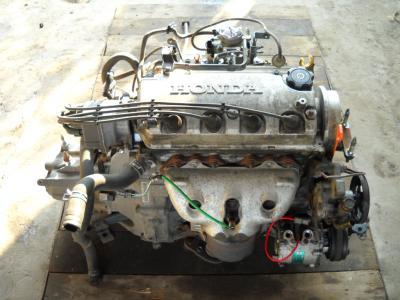 Контрактные двигатели на хонда